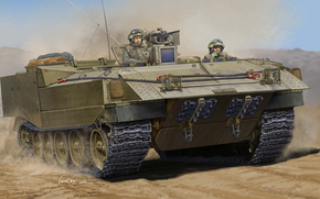 Art, BTR, Israeli armored personnel carrier Achzarit