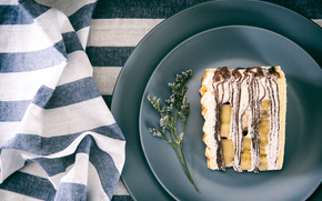 Tiramisu, dessert, dishes