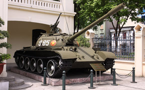 t-54b, Soviet, average, tank, Tank, weapon, ussr, Vietnam
