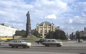 ussr, Moscow, area, monument, Dzerzhinsky