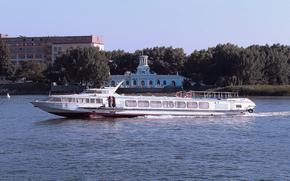 river, city, Rostov, Don, ussr, ship