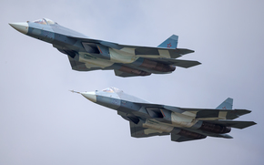 T-50, Air force, Russia, plane, fighter, aviation, PAK FA, army