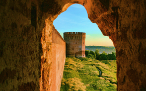 Smolensk, Russia, tower, fortification, wall, fortress, city, landscape, window, nature