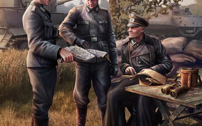 soldats, Wehrmacht, World of Tanks Generals
