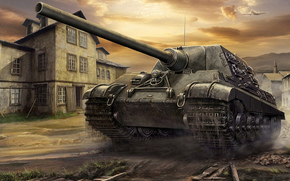 Art, SAU, Jagdtiger, World of Tanks Generals