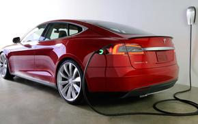 Electric, red, machine, Technology, charging, tesla, Model C, Electric, Sedan, Other brands
