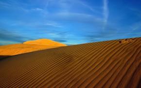 пейзаж, пустыня, солнце, жара