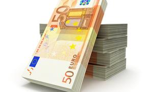 dinero, euros, billetes, proyecto de ley, nota, empacar, packs, moneda