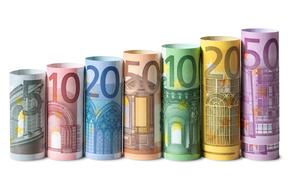 dinero, euros, billetes, proyecto de ley, nota, moneda