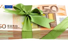 dinero, euros, billetes, proyecto de ley, nota, empacar, moneda, arco