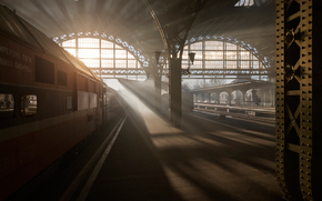 Vitebsk, railway station, petersburg, Leningrad, Petrogad, Peter, Russia, morning, light, train, car