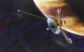 space, Pioneer 10, unmanned, spacecraft, NASA