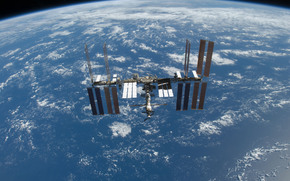 ISS, land, space, science, equipment, Orbiting, station, ocean, obloka, HORIZON, flight