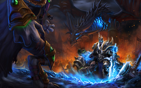 Heroes of the Storm, Arthas, The Lich King, Zeratul, Dark Prelate