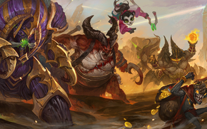 Heroes of the Storm, Anub'arak, Traitor King, Li Li, World Wanderer, The Butcher, Flesh Carver, Azmodan, Lord of Sin