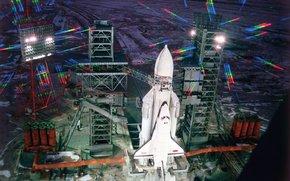 energy, blizzard, 1988, Spaceport, Baikonur, ussr, space, science, equipment