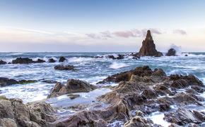 REEFS, Rocce, pietre, paesaggio marino, Spagna, Almeria