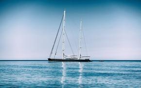 Morze Śródziemne, Morze Śródziemne, jacht, morze