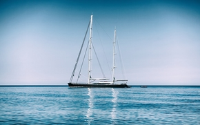 Mediterranean Sea, Mediterranean, yacht, sea