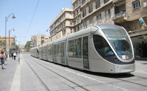 Jerusalem, Israel, Tram, transportation, RAILS, street, road, home, lights, city