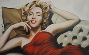 Sztuka, Meriliin Monroe, Marilyn Monroe, Norma Jeane Mortenson, Norma Jeane Baker, Amerykańska aktorka, piosenkarz, symbol seksu.