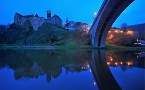 Loket, Ohre river, Czech Republic