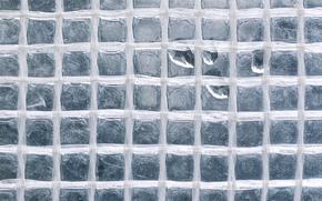 glass, squares, drops, Macro, TEXTURE