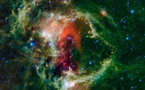 nebulosa, anima, costellazione, Cassiopea, spazio, Stella