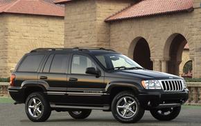 2004, Jeep, Grand Cherokee, Por tierra