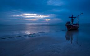 Thailand, thailand, sea, fishing boat