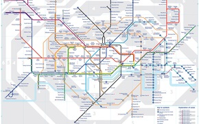 map, plan, scheme, metro, city, London, England