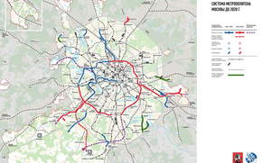 map, plan, scheme, metro, transportation, city, Moscow, Russia