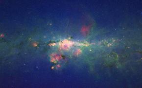 spazio, centro, galassia, Via Lattea, Stella, bellezza, scienza, astronomia, Macro