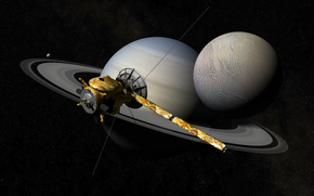 The Cassini-Huygens, automatic, space, apparatus, planet, Caturn, Satellite, Rings, space, Star