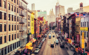 New York City, Strade, Chinatown, East Broadway