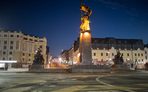 Vladivostok, Russia, area, Fighters for Soviet Power, monument, home, city, street