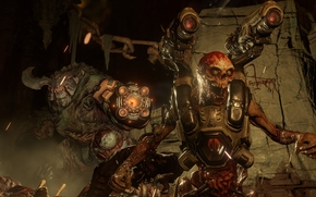 Doom 4, Cyberdemon, Cyberdemon, Monsters