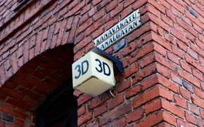 street, plate, home, 3d, brick, Helsinki, Finland