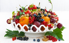 fruit, BERRY, vitamins, vase