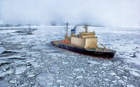 Arctic, icebreaker, yacht