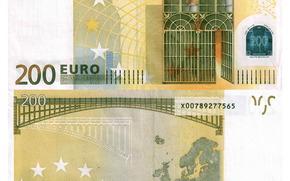 dinero, euros, proyecto de ley, nota, 200