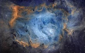 nebula, space, Star