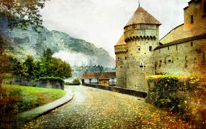 epoca, Svizzera, Castello