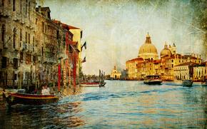 vintage, Venice, Italy