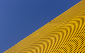 diagonal, blue, yellow