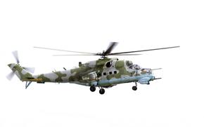 фотокартина, печать на холсте на заказ Украина ArtHolst ударный, вертолет, МИ-24, Hind