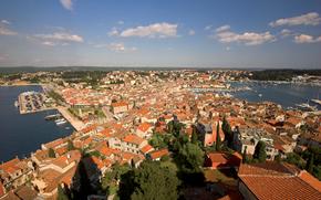 overview, Rovinj, croatia