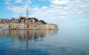 Rovigno, Istria, croazia, Costa adriatica