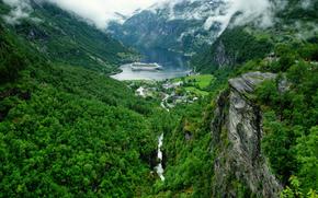 Geirangerfjord, Geiranger, norvegia