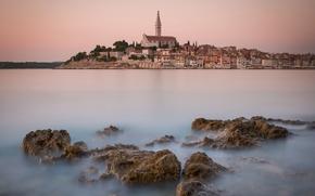 Rovigno, Istria, croazia, Mare Adriatico, Rovigno, Istria, Croazia, Mare Adriatico, mare, pietre